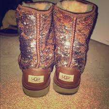womens ugg boots size 9 27 ugg shoes size 9 uggs color changing sequin from