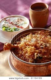 posters cuisine hyderabadi biryani a popular chicken or mutton based biryani from