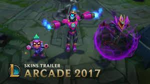villains rule arcade 2017 skins trailer league of legends