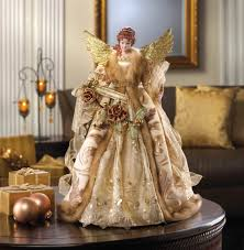 christmas angels or stars on top of trees wholesale