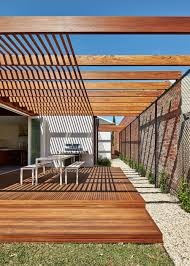 Architect House Materials And Light Filled Courtyards Connect Old To New