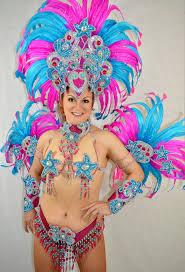 carnival brazil costumes blue pink carnival samba costume show girl