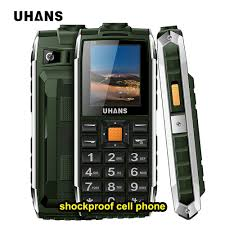 Rugged Cell Phones Aliexpress Com Buy Uhans V5 Waterproof Shockproof Rugged Mobile