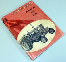 international farmall 656 tractor owners operators maintenance