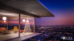 modern christmas tree stahl house los angeles interiors