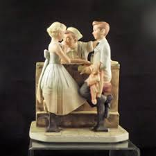 after the prom figurine by norman rockwell