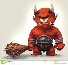 angry cyclops stock illustration image 64817204