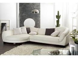 canapé d angle cuir de buffle canapé d angle cuir de buffle 5 places ii blanc ivoire