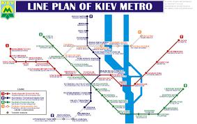 Kiev Map Kiev Metro U2014 Map Lines Route Hours Tickets