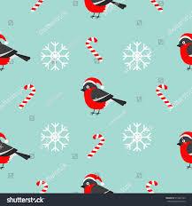 cardinal bird home decor christmas snowflake candy cane bullfinch bird stock vector