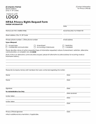 Patient Information Sheet Template Hipaa Privacy Rights Request Form Office Templates