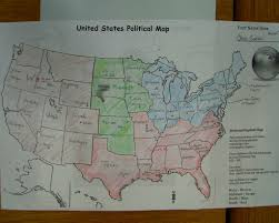 Us Map Political Us Political Map And State Regions U2013 Mr Goebel U0027s Social Studies 302