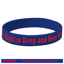 bracelet silicone images 2nd amendment silicone bracelet right to bear arms skullz outdoors jpg