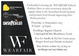 wearfair ethical fashion show i love op shop