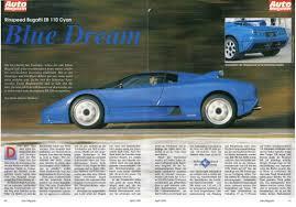 bugatti eb110 crash bugatti eb110 magazine articles scans page 3 auto titre