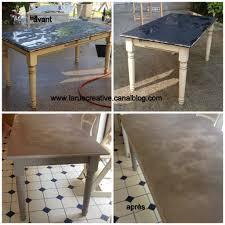 banc beton cire une table de cuisine relookée avec le béton ciré www eleonore deco