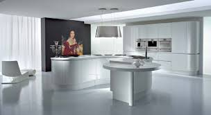 curved kitchen island designs impressive curved kitchen island designs