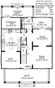 home office floor plans home office and workshop 9739al architectural designs house