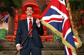 Ceremony Flag Andy Murray Is Britain U0027s Flag Bearer For The Rio 2016 Olympics