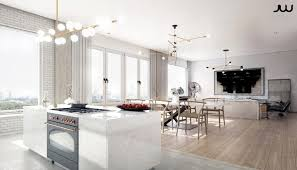 maison et cuisine maison luxe intérieurs design chic et raffinés cuisine ouverte