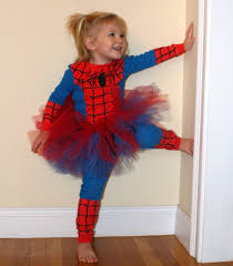 add a tutu and you can turn big brother u0027s old spiderman costume
