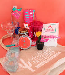bachelorette party gift bags nico and lala scottsdale or bust for a desert bachelorette bash