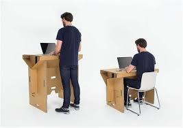 bureau pour travailler debout solution assis debout un véritable atout santé