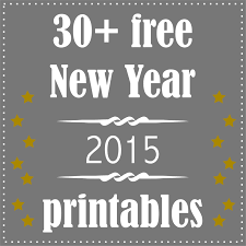30 free printable new year u0027s eve decoration and gifts