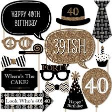 compare prices on 40th birthday decorations online shopping buy