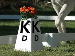 square dressage letters for arena