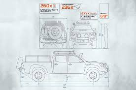 nissan frontier bed length decked out for bug out recoil offgrid