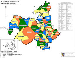 Counties In Colorado Map by County Sligo Parish Map Sligo Heritage And Genealogy Society