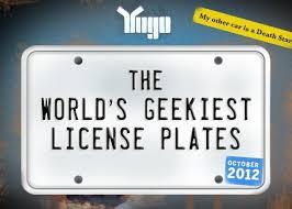 Vanity Playes The World U0027s Geekiest License Plates Network World