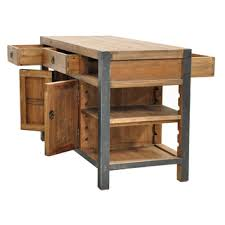 overstock kitchen islands willow pine portable kitchen island overstock shopping big