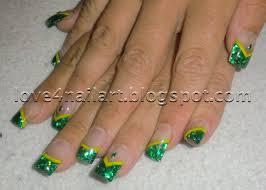 green nail designs pccala