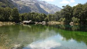 Clearest Water In The World Blue Lake Hut Nelson Lakes National Park Nelson Tasman Region