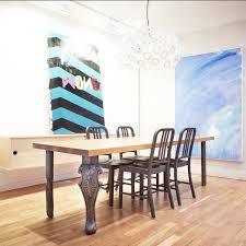 Floor Dining Table Castor Table Floor Lighting