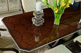 Art Deco Dining Room Chairs by Art Deco Dining Table With Beautiful Wooden Inlay Work