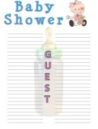 list of baby shower baby shower guest list who to invite cool baby shower ideas