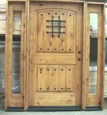 32x80 Exterior Door by Knotty Alder Door 42