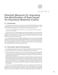 chapter 5 potential measures for improving the identification of