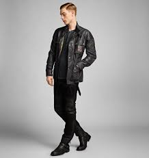 belstaff champion jacket in black for men lyst