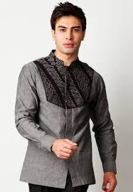 desain jas koko contoh model baju muslim pria modis lengan panjang baju muslim