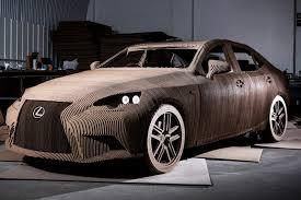 lexus of birmingham used cars lexus unveils origami cardboard car time com