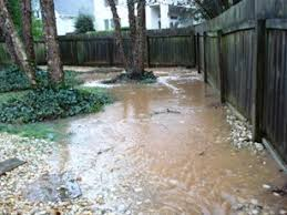 Drainage Ideas For Backyard Good Drainage Requires That The Yard Be Graded To Direct Water
