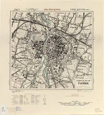 Parma Italy Map by