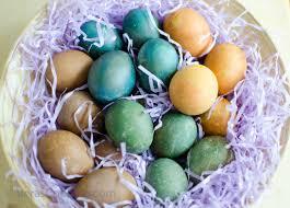 how to dye brown eggs vera u0027s cooking