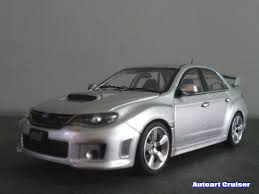 subaru sti 2011 autoart cruiser subaru wrx sti 2011 super sport saloon kyosho