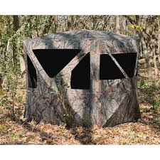 Pop Up Ground Blind The Ravage 6x6 U0027 5 Hub Blind 222731 Ground Blinds At