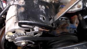 lexus lx450 alternator alternator belt tightening made easy youtube